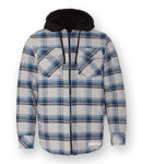 Picture of 8620 - Quilted Flannel Full Zip Hooded Jacket