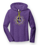 Picture of 887L - Ladies Long Sleeve Hooded T-Shirt